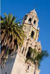 San Diego museums Balboa Park Cabrillo Tower