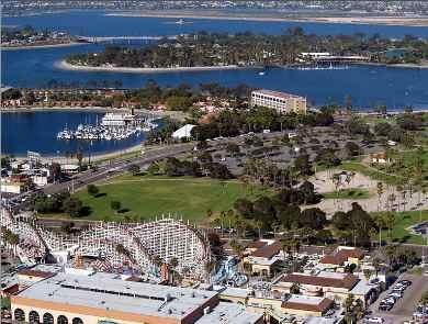 Belmont Park Amusement park