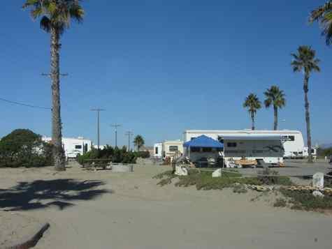 San Diego Beach Camping