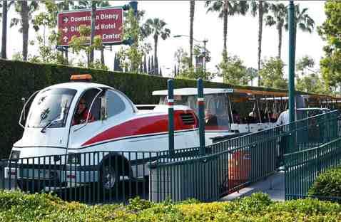 Disneyland California Parking