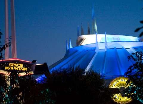 Space Mountain Disneyland