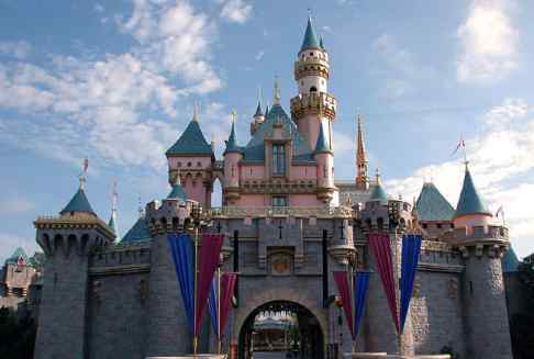 Snow White's Castle Disneyland