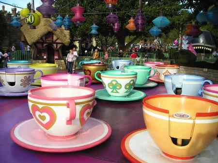 Tea Cups Ride Disneyland