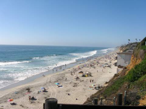 Beach Encinitas California