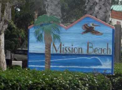 Driving Directions To Mission Beach California From Interstate 5 In San Go Take The Grand Avenue Exit And West Turn Left On Blvd Park