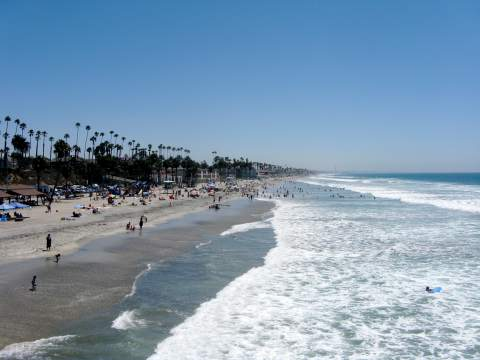 Oceanside Beach California