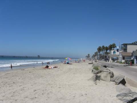 Oceanside Beach and Pier