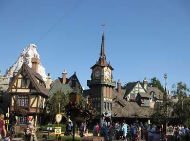 Disneyland Peter Pan Ride