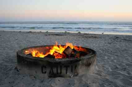 Beach Bonfire Beaches Including Fire