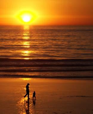 San Diego California Sunset