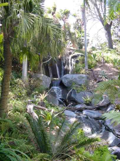 San Diego waterfall