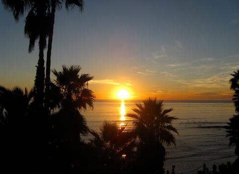 San Diego Sunset Pacific Ocean
