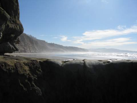 Blacks Beach San Diego Flatrock Torrey Pines Beach Walk