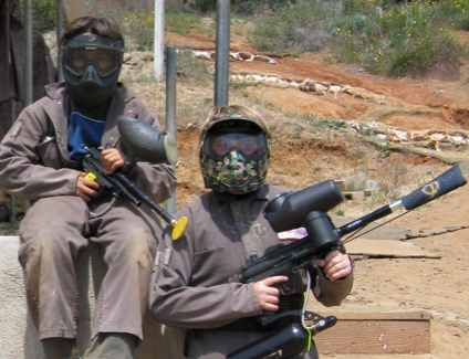 paintball wear your army gear and strap on your paintball guns and you are ready to go paintball on halloween these make good halloween costumes for