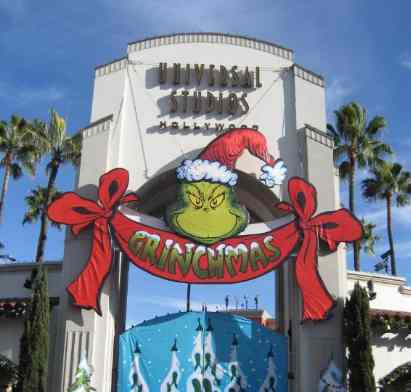 Christmas at Universal Studios Hollywood