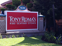 Tony Roma's Ribs Seafood Steaks Restaurant