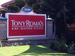 Tony Roma's Ribs Seafood Steaks Restaurant
