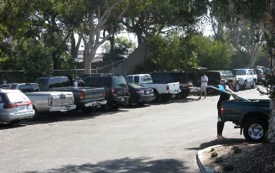 Grandview Beach Parking