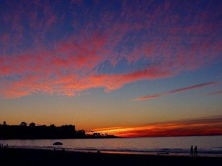 San Diego Beach Sunset