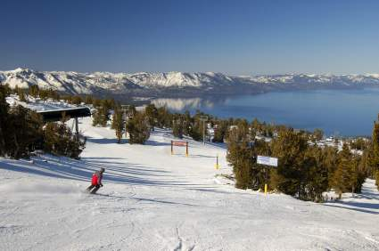 Lake Tahoe ski vacation