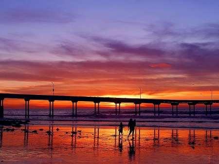 Ocen Beach San Diego California