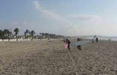 San Diego Beach Surfing