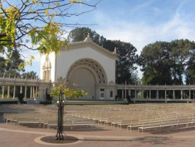 Spreckels Organ Pavillion Balboa Park