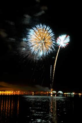 Mission Bay Fireworks San Diego