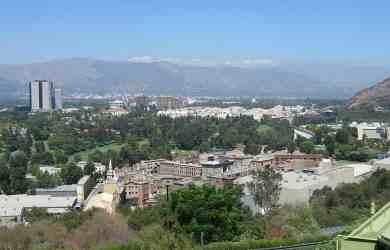 Universal Studios Hollywood Aerial View