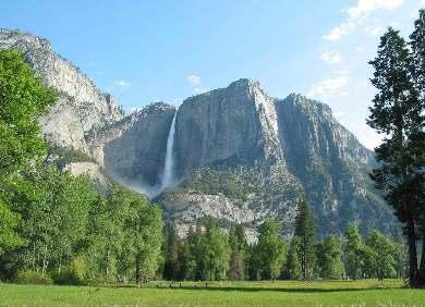 Yosemite Falls in Yosemite Valley
