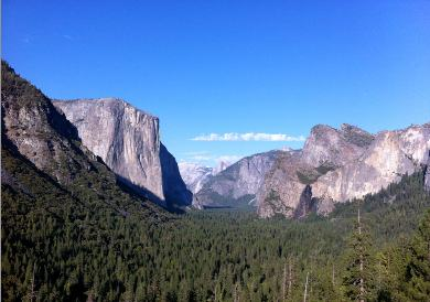 Yosemite Pictures from Tunnel View