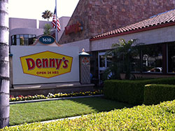 Denny's Restaurant Disneyland Anaheim