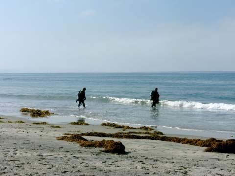 Scuba Divers in San Diego California